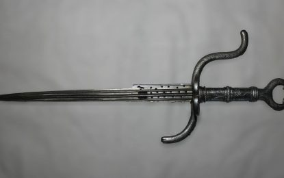 The Schwarzburg Armoury (2): The Main-Gauche Dagger (Oss 2825)