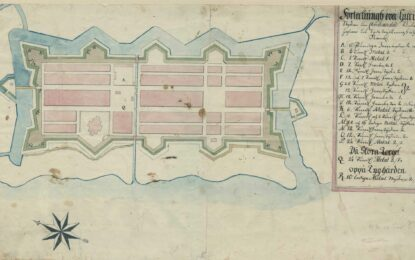 A Lack of Cannons – The Map of Christianstad in 1673