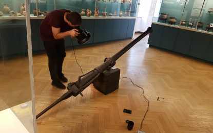 Arms and Armour in 3D (4): 16th Century Swivel Gun