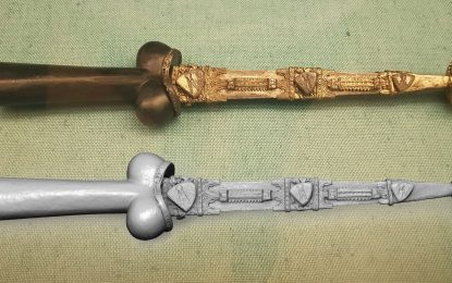 Arms and Armour in 3D (1): The Ballock Dagger